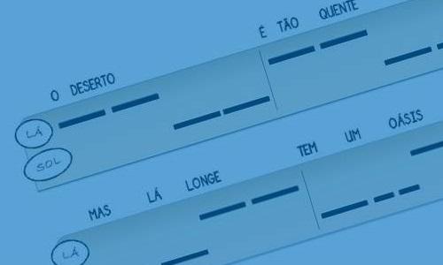 Módulo 2 TAPETE MÁGICO Introdução à mão esquerda. Leitura gráfica, tocando e cantando.