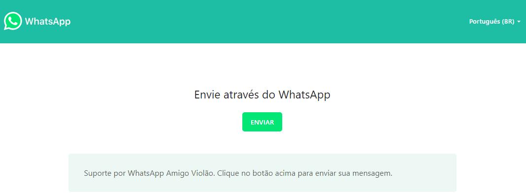 Whatsapp página de vendas