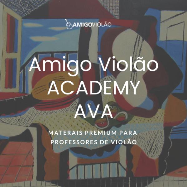 ACADEMY AMIGO VIOLÃO VITALÍCIO 3 ACADEMY AMIGO VIOLÃO VITALÍCIO